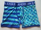 MENS AMERICAN EAGLE OUTFITTERS PERFORMANCE FLEX TRUNK REGULAR LENGTH BOXER L