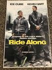 KEVIN HART Signed Autograph Ride Along SHOW POSTER JSA COA