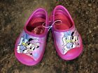 Disney minnie mouse and Daisy duck clog size 5 6