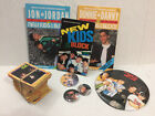 HUGE NEW KIDS ON THE BLOCK MEMORABILIA LOT B OOKS - BUTTONS - PINS - CARDS