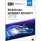 Bitdefender Internet Security 2018 3 Devices 2 Years New Retail Box 812813014545