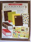 CookBookin Recipe Scrapbook Kit 8x10 Papers Cards Stickers and Shapes