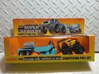 Matchbox 1987 The Super Chargers Competition Pull Set NIB