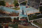 VACATION TRAVEL VINTAGE RETRO USA POSTCARDS BY KAUFMAN 100 Cotton Fabric OOP FQ
