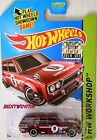 HOT WHEELS 2014 SUPER TREASURE HUNT DATSUN BLUEBIRD 510 WAGON FACTORY SEALED W+