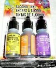 ADIRONDACK Tim Holtz Ranger Alcohol Inks SUMMIT VIEW DISCOUNTED Purple Leaked