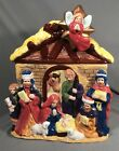 Large Nativity Scene Cookie Jar Jay Imports With Box