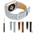 Cool Handmade Genuine Leather Watch Band for iWatch Series 1 2 Sport 42mm 2 42mm