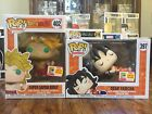 2018 SAN DIEGO COMIC CON EXCLUSIVE FUNKO POP: BROLY & DEAD YAMCHA