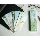 30pcs Bookmarks Flower Kawaii Bookmarks for Notbook Students School Marking Book