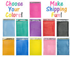85x12 11 Colors Poly Bubble Mailers Padded Shipping 8x12 Mailing Envelopes 2