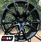 17 inch RW Wheels for Jeep Grand Cherokee Spider Monkey 17x8 Gloss Black Rims