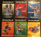 KETTLEWORX Kettlebell Workout 6 DVD Set NEW