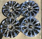 18 BRAND NEW SET 4 LEXUS GX460 OEM CHROME WHEELS RIMS 74297
