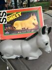 VTG Outdoor Nativity Donkey Plastic Blow Mold 18 inches long