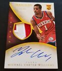 2013-14 Immaculate Michael Carter-williams Rookie Patch Auto RPA # 99
