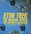 Star Trek The Original Series TOS The Captain's Collection Card Box