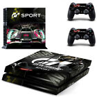 Sport GT Theme Skin Sticker For Palystation 4 PS4 Decals Vinyl Protect Cover Set