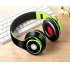 Foldable Wireless Sports Headset Bluetooth Headse Bilateral Stereo For IPhone