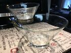 Vintage Anchor Hocking Crystal Clear Chip and Dip Set *Promo 1959* MINT With Box