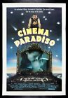 CINEMA PARADISO  CineMasterpieces 1988 ORIGINAL VINTAGE MOVIE POSTER LINEN