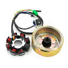 1 Set Motorcycle ATV 8 Pole Coil Flywheel Magneto Stator Fits GY6 125 150cc PGS