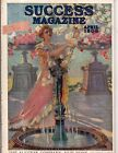 1908 Success April Teddy Roosevelt sports Indian Motorcycle engaged Girl