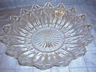 VINTAGE FEDERAL GLASS PETALS AND CROSSES GLASS BOWL (B6)