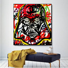 """Alec monopoly Handcraft Oil Painting on Canvas,""""stra wars"""",24×24IN"""