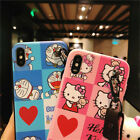 Cartoon Cute Hello Kitty Silicone Soft Case Cover For iPhone XS 6 6S 7 8Plus