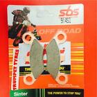 Goes G 520 07 > ON SBS Front Sinter Brake Pads OE QUALITY 914SI