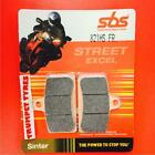 Motorhispania RX 125 R 08 > ON SBS Front Brake Pads Sinter Set OE 821HS.FR