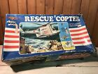 Vintage 1971 Mego Action Jackson Rescue Copter in Box