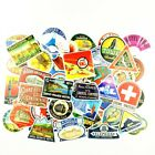 Suitcase Luggage Stickers Pack Travel Hotels Vintage Style Old Fashioned 50 pcs