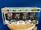 Funko Pop 2014 SDCC Exclusive GHOSTBUSTERS 4 Pack San Diego Comic Con