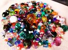 400 + Pieces Assorted Vintage Swarovski Czech Crystals Faceted Glass Beads Lot