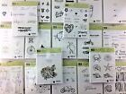 Stampin Up Rubber Stamp Sets Retired Winter Halloween Sale A Bration U PICK