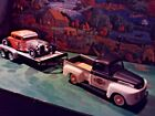 124 25 Scale Diecast3 piece SetHarley Davidson48 Ford Truck29 Ford +trailer