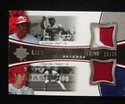 2006 JOE MORGAN CHASE UTLEY 19 35 ULTIMATE TANDEMS REDS PHILLIES patches RARE