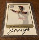 2001 Fleer greats of the game Joe Morgan auto rare card 17 years old