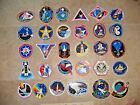 30 Different NASA SPACE SHUTTLE Mission Crew Astronaut Stickers Decals Lot 1