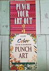Lot of 2 Memory Makers Punch Your Art Out 3 and Color Your Scrapbook Punch Art