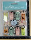 Jolees TRAVEL TAGS REPEAT Boutique Stickers NEW