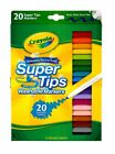 Crayola Washable Markers Super Tip Assorted Colors Box Of 20