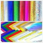 Self Adhesive Sign Vinyl Chrome Iridescent Holographic Film Cricut Sticky Paper