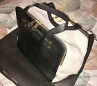 PIED A TERRE LEATHER LARGE BOWLING BAG STUNNING NEW IN DUST BAG