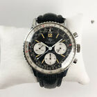 Vintage Breitling Navitimer Chronograph Wristwatch Reference 806 Breitling band