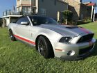 2012 Ford Mustang Shelby GT500 SVT 2012 Ford Mustang Shelby GT500 SVT Convertible Project Car
