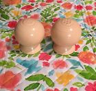 Fiestaware Apricot Salt And Pepper Shakers