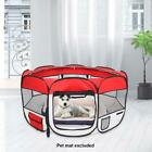 45 Red Oxford Portable Pet Puppy Soft Tent Playpen Dog Cat Folding Crate